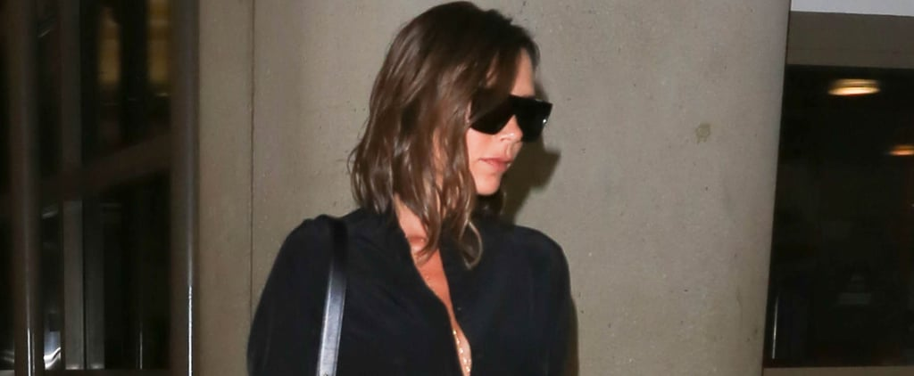 Victoria Beckham Found the Travel Pants For All Working Women