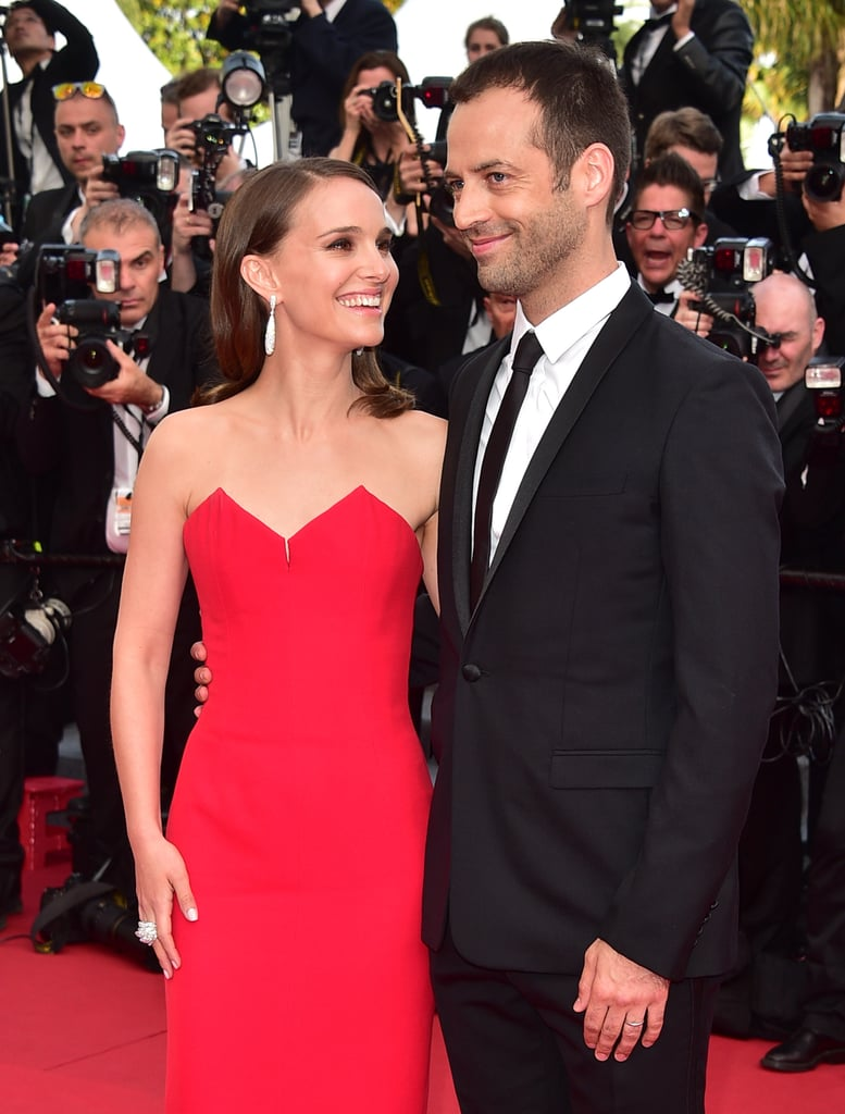 Natalie Portman and Benjamin Millepied in 2015