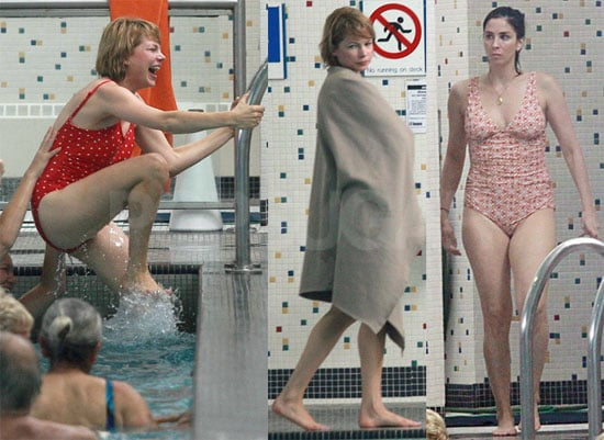 Pictures of Michelle Williams and Sarah Silverman in Swimsuits Filming Take This Waltz
