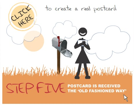 Send Friends and Family Postcards With One Penny Post