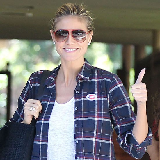 Celebrities Voting | Pictures