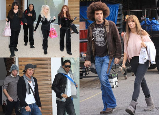 Pictures of X Factor Finalists Preparing For Live Shows, Pictures of Danyl Johnson, Jamie Afro, Stacey Solomon, Kandy Rain