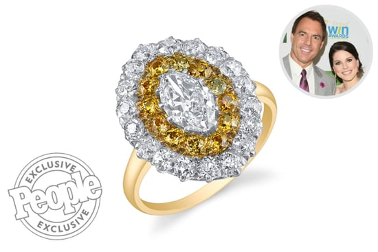 See the Unique Antique Engagement Ring Home and Family Star Mark Steines Gave Julie Freyermuth