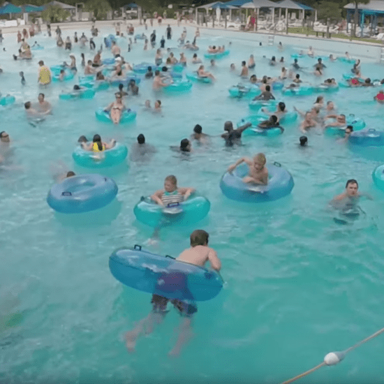 Can You Spot the Drowning Child in This Public Pool?