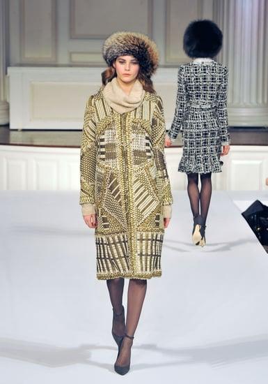 Fall 2011 New York Fashion Week: Oscar de la Renta