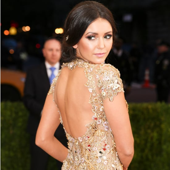 Nina Dobrev Marchesa Dress at Met Gala Afterparty 2016
