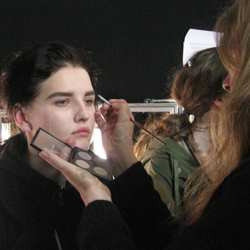MAC Makeup at the 2011 Autumn Winter Acne Fashion Show