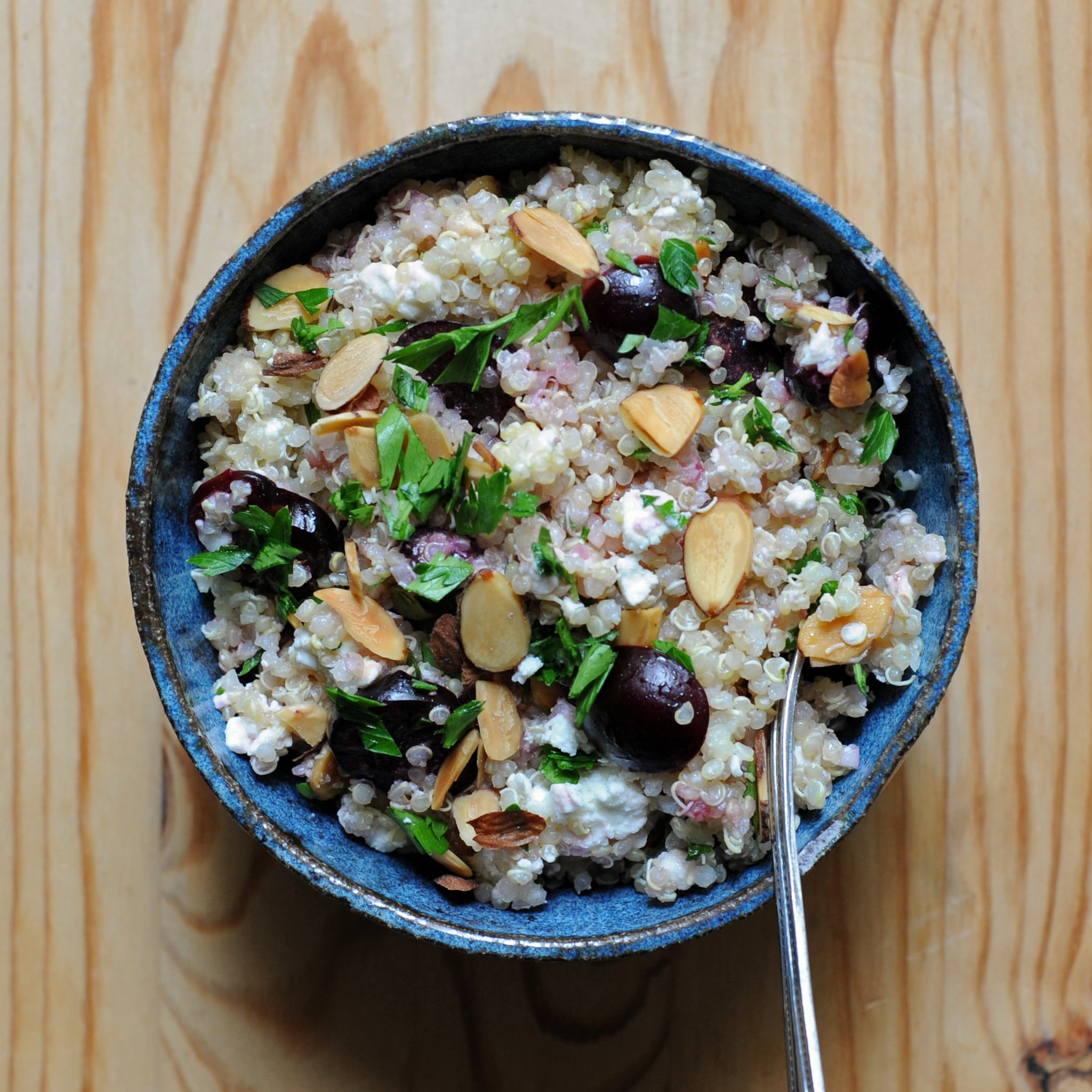 What to Make: Quinoa Salad With Cherries and Feta