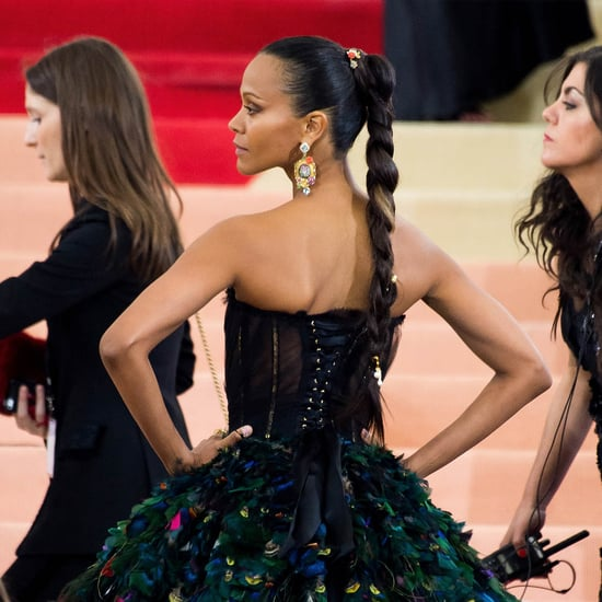 Zoe Saldana makes first appearance at MET Gala since Nina controversy