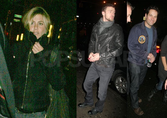 Photos of SNL After Party With Justin Timberlake, Jennifer Aniston and Video of Justin Timberlake and Beyonce on SNL