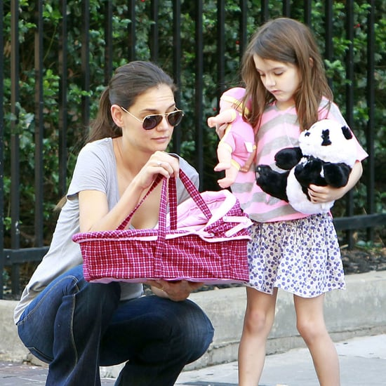 Suri Cruise Pictures With Tom and Katie in Pittsburgh