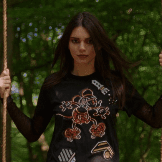 Kendall Jenner in Disney x Coach Campaign 2016