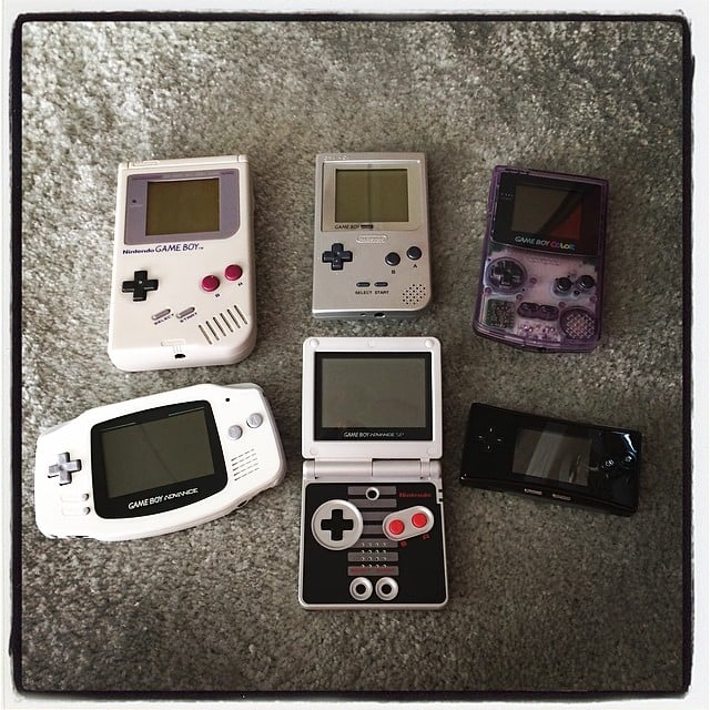 The Game Boy Advance SP and the micro! These consoles came out in all shapes and sizes over the years. Source: Instagram user  sonictonic