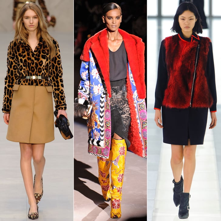 The Biggest Trends From London Fashion Week Fall '13