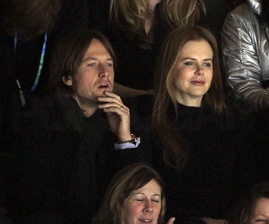 Slide Photo of Nicole Kidman and Keith Urban at Olympics