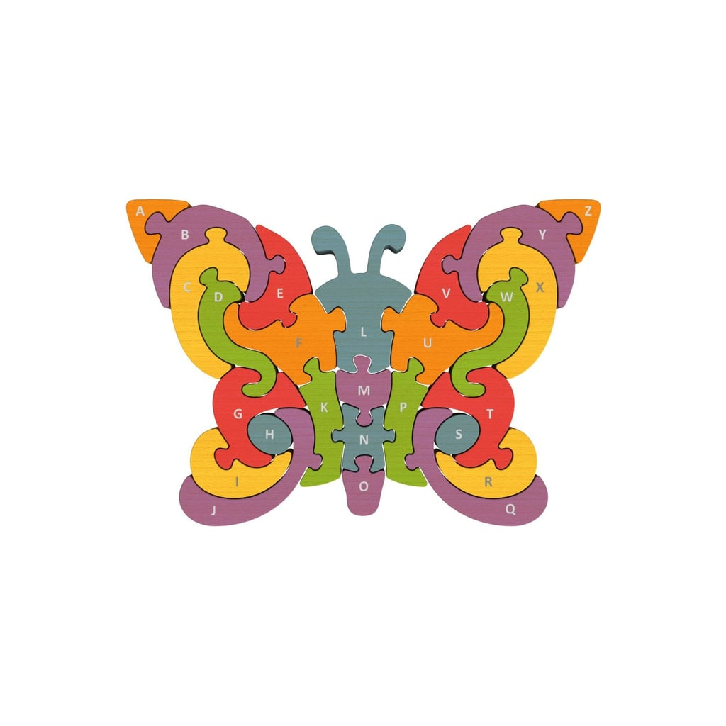 For 3-Year-Olds: BeginAgain Butterfly A-Z Puzzle