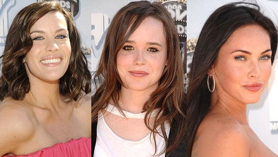 Trend Alert: Absentee Eye Shadow at the MTV Movie Awards