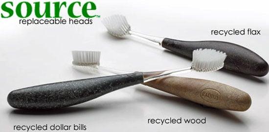 Recycled Dollar Bill Toothbrush