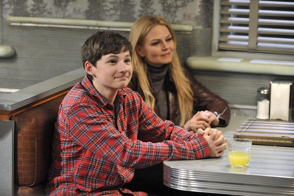 Henry (Jared S. Gilmore) hangs out at the diner.