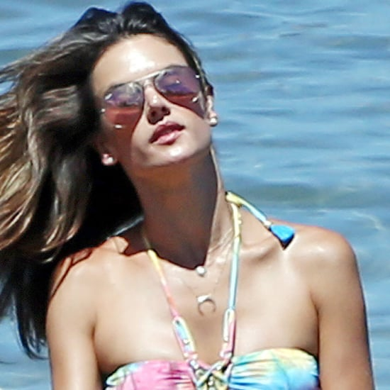 Alessandra Ambrosio in a Bikini in Hawaii