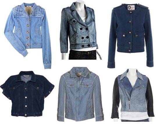 Shopping: Six New Denim Jackets