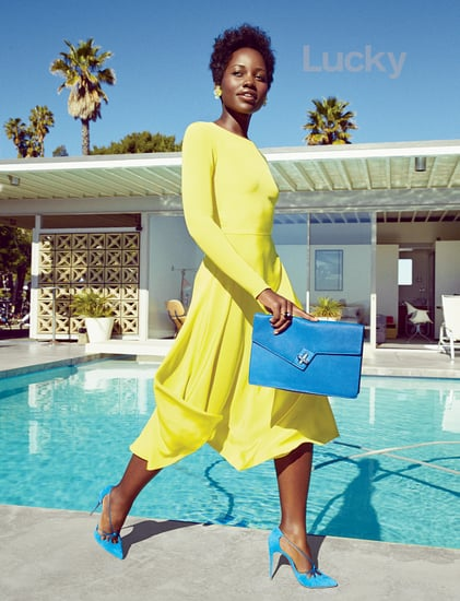 Lupita Nyong'o Was Banned from Wearing Makeup as a Teen, Discusses Beauty in Lucky Magazine