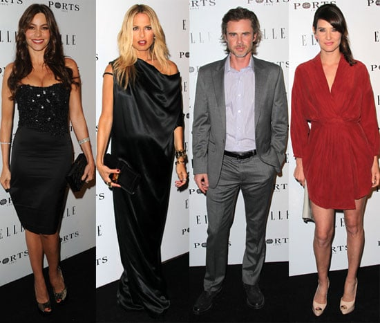 Pictures of Rachel Zoe, Sofia Vergara, Sam Trammell, and Cobie Smulders at an Elle Party 2011-01-28 08:39:54