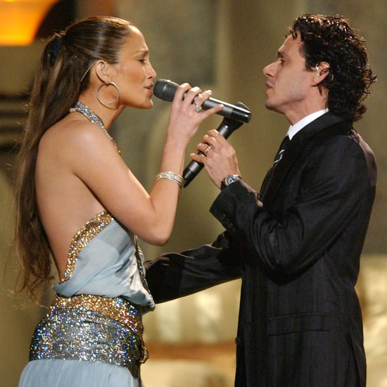 Jennifer Lopez and Marc Anthony Performance at Grammys 2005