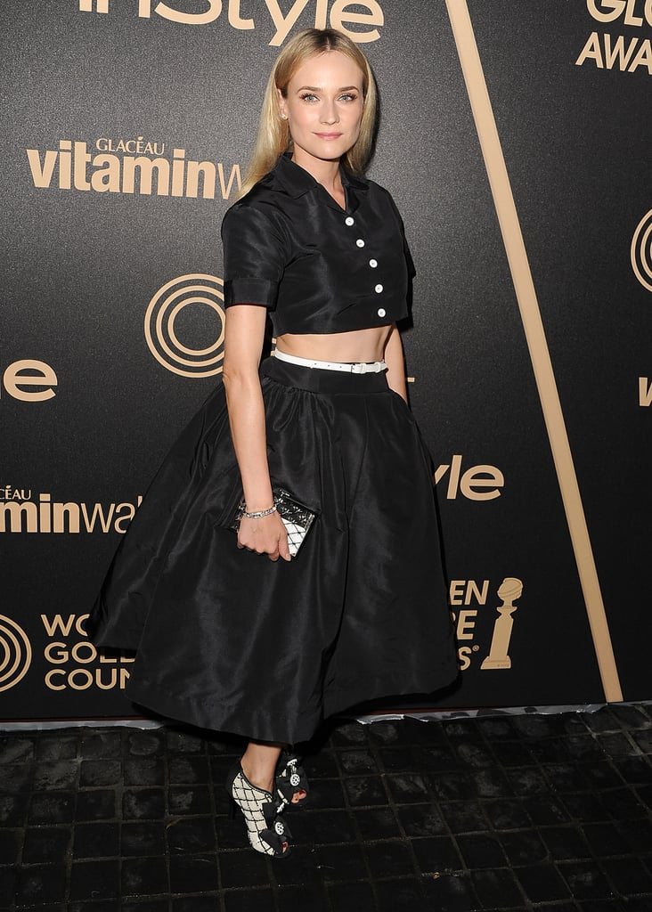 Even Diane Kruger has worked with celebrity stylist Kate Young.