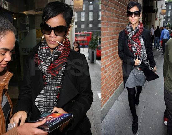 Photos of Rihanna in London