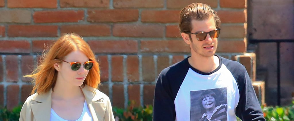 "Emma Stone and Andrew Garfield Look Pretty ""Back Together"" to Us!"