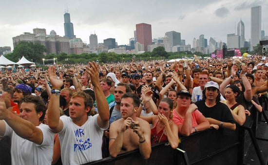 Watch Lollapalooza Webcasts on the AT&T Blue Room