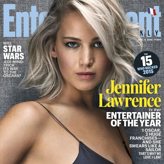 Jennifer Lawrence Is EW's Entertainer of the Year 2015