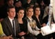 Armie Hammer and Elizabeth Chambers sat next to Heidi Klum and Brooke Shields in the front row at Kenneth Cole's Thursday show.