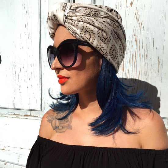 Dark-Blue Hair Color Ideas