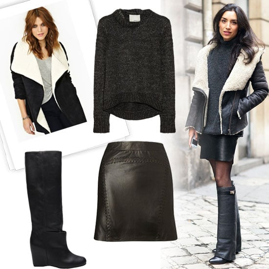 How to Wear All Black | Winter 2013