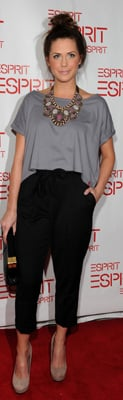 Erin Lucas at Esprit Opening in New York