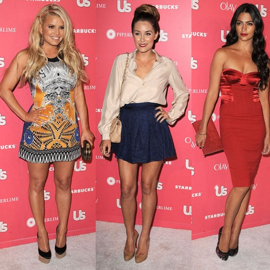 Jessica Simpson Pictures at Us Weekly's Hot Hollywood Party