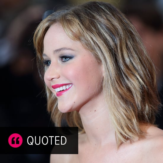 Everyone's Girl Crush, Jennifer Lawrence, Gets Candid
