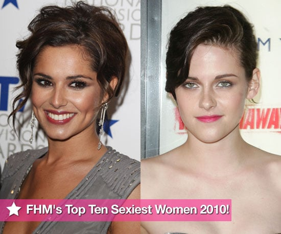 Photos of FHM's Sexiest Women in the World 2010 Top Ten Including Kristen Stewart, Cheryl Cole, Megan Fox 2010-04-29 02:36:45