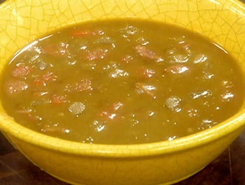 Slow Cooker Recipe For Split Pea Soup With Chorizo