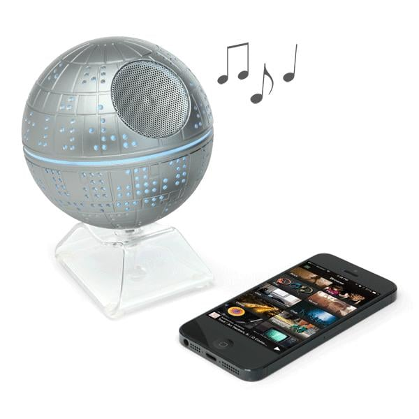For 9-Year-Olds: Star Wars Death Star Bluetooth Speaker