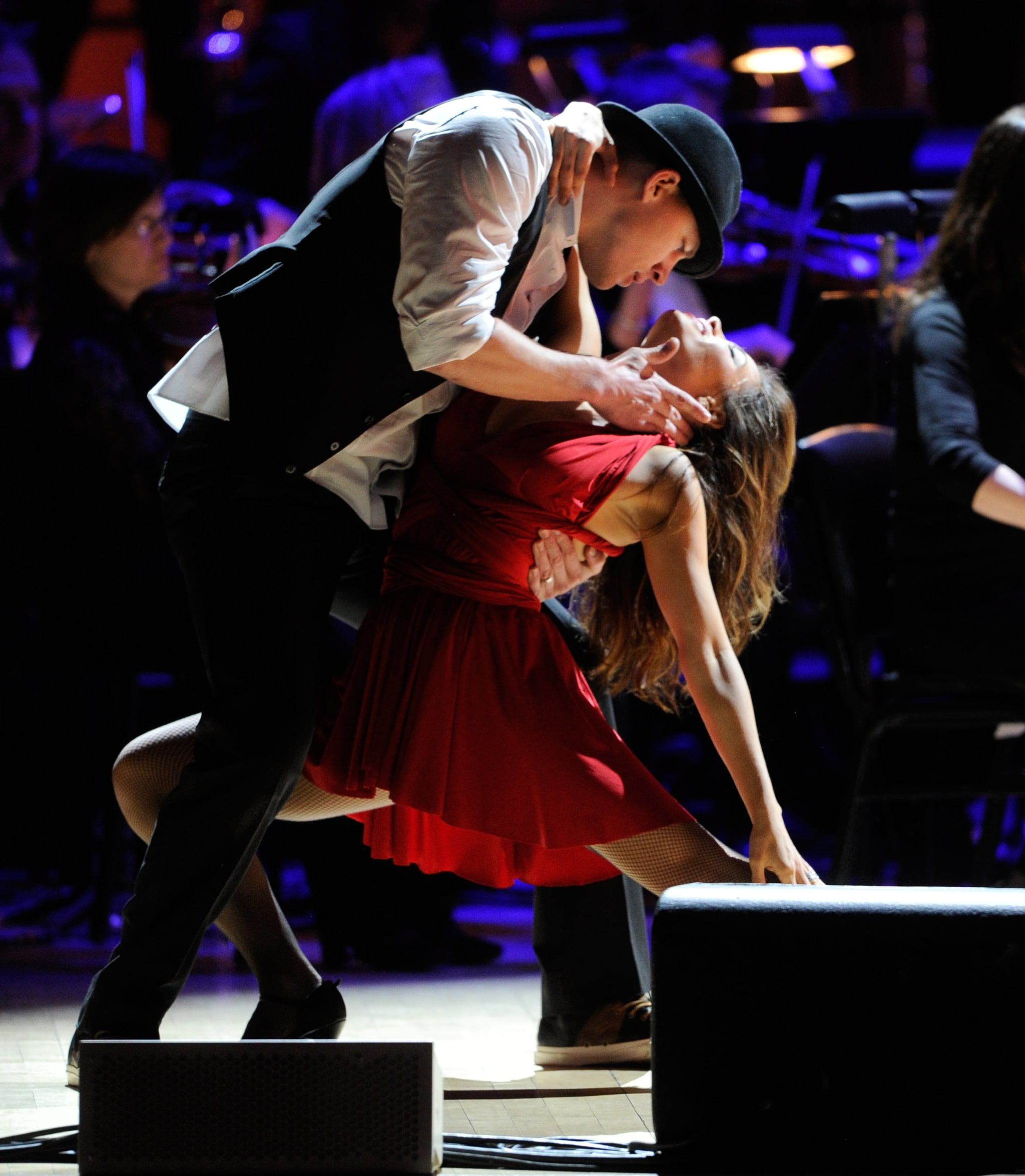 Channing and Jenna showed off their dance skills at a Rainforest Fund concert in April 2012 in NYC.