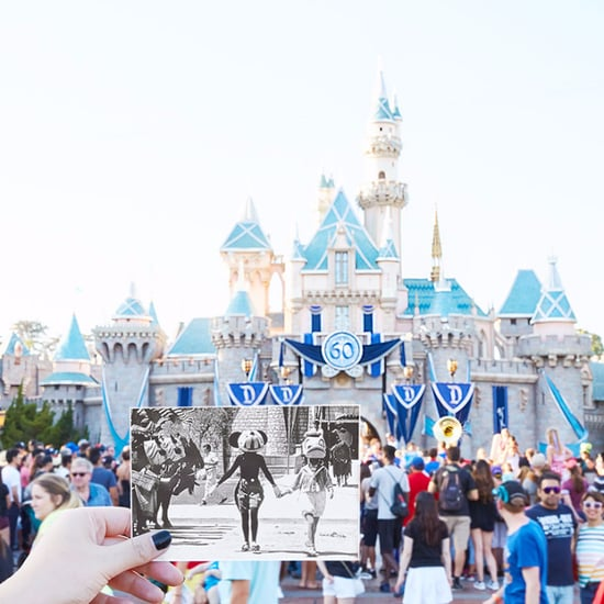 Disneyland Then and Now Photos