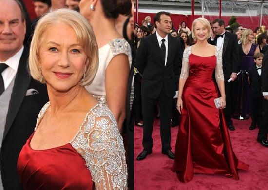 Oscars Red Carpet: Helen Mirren