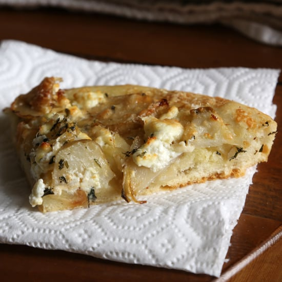 Focaccia With Artichokes and Goat Cheese