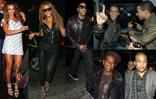 Photos of Beyonce, Jay-Z and JLS in London, JLS Number One Album Beating Robbie Williams Following Birmingham Fan Event Disaster