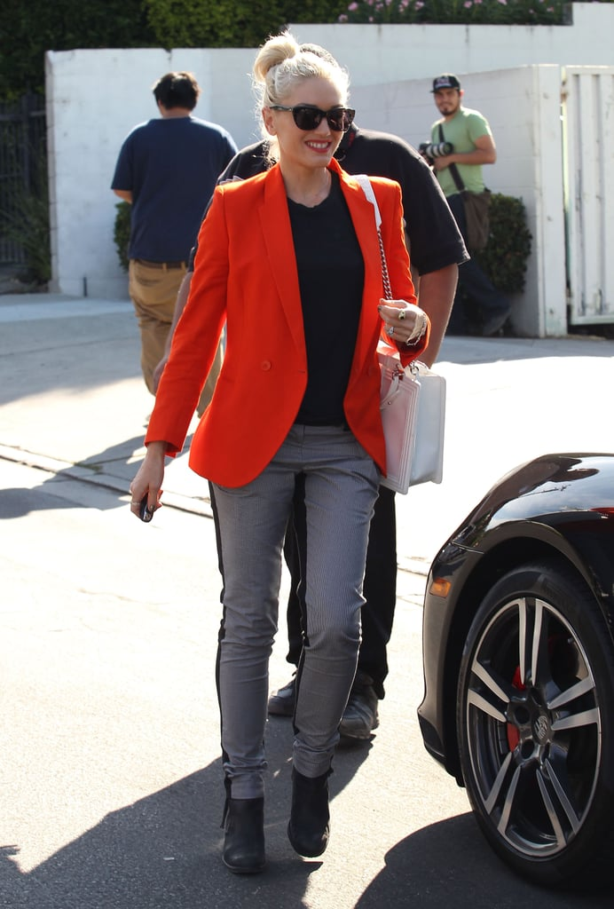Gwen Stefani stepped out in LA.