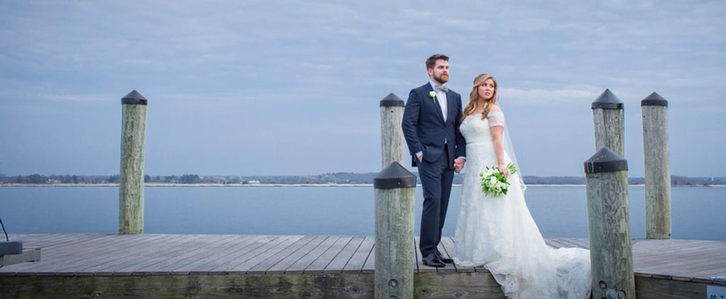Anchors Aweigh! Nothing but Love Is Docked at This Couple's Waterfront Wedding