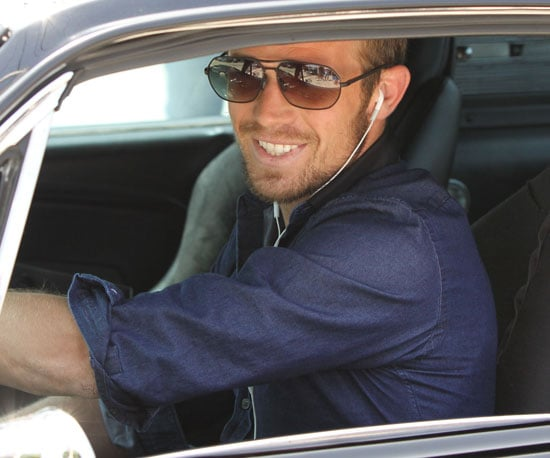 Slide Picture of Cam Gigandet Leaving Maxfield in LA